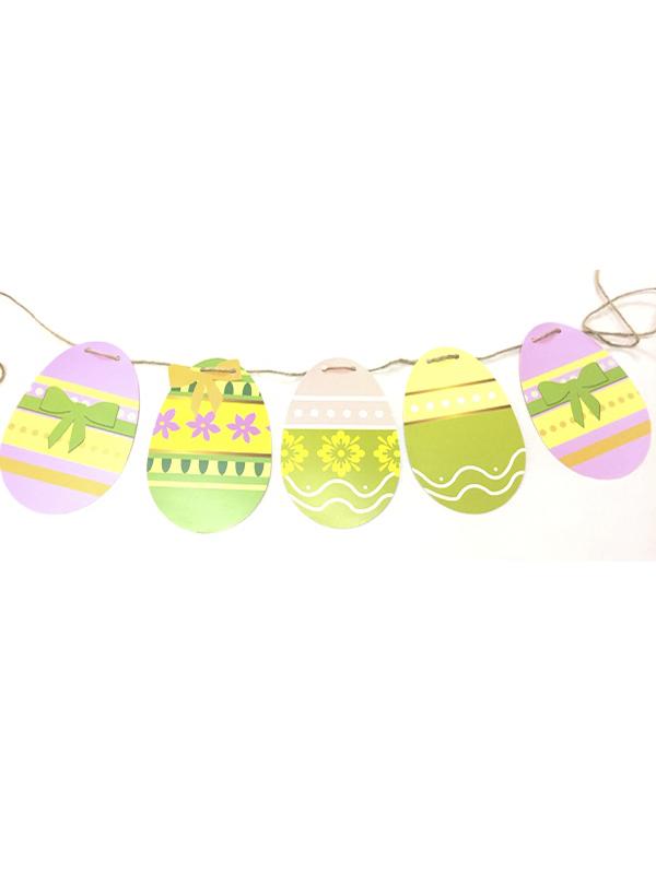 Easter Egg Bunting
