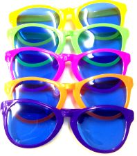 Giant Elton John Glasses - Assorted Colours