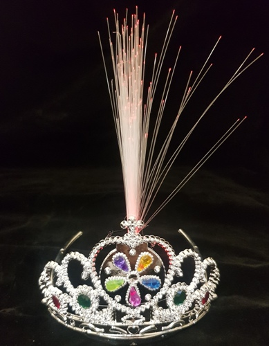 Fibre Optic Flashing Tiara