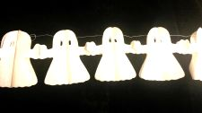 Ghost Paper Garland