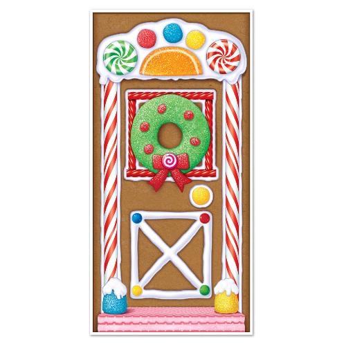 Gingerbread House Door Cover