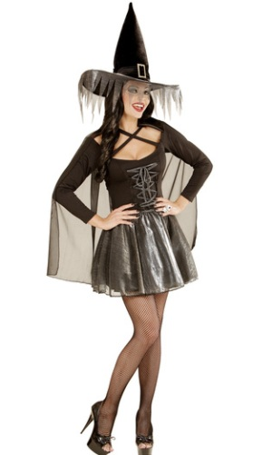 Glamour Witch Costume 1234