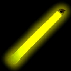 Glow Stick Yellow On Cord