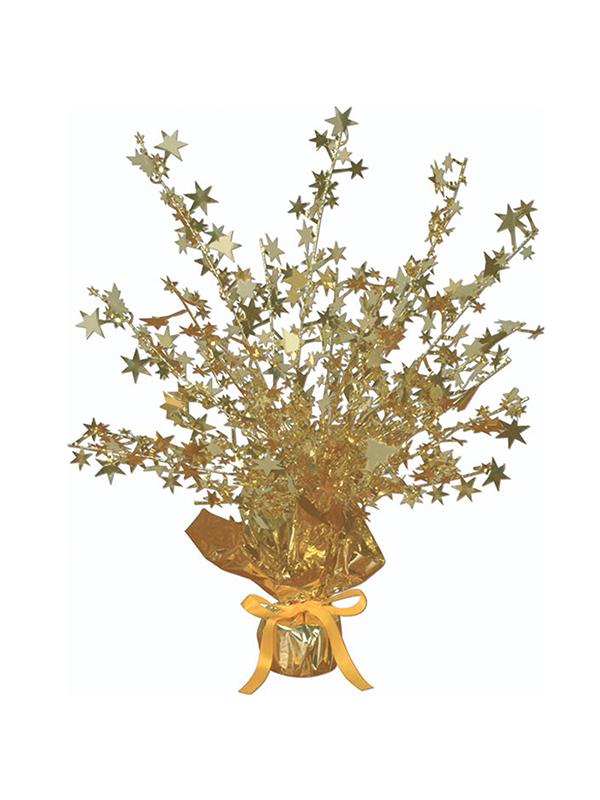 Star Gleam 'N' Burst Centrepiece Gold (Quantity 1)