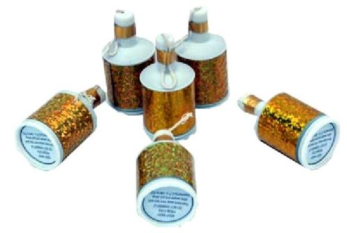 Holographic Gold Party Popper - 20