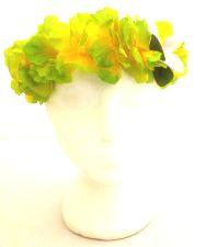 Hawaiian Flower Superior Hairband - Green