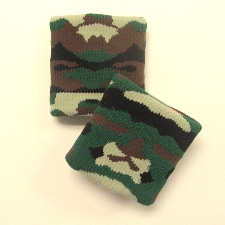 Army Camouflage Sweatbands