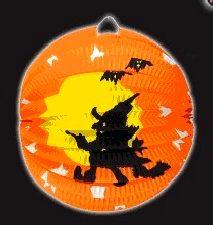 Halloween Witch Paper Lantern