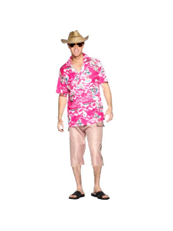 Hawaiian Pink Shirt (12345)