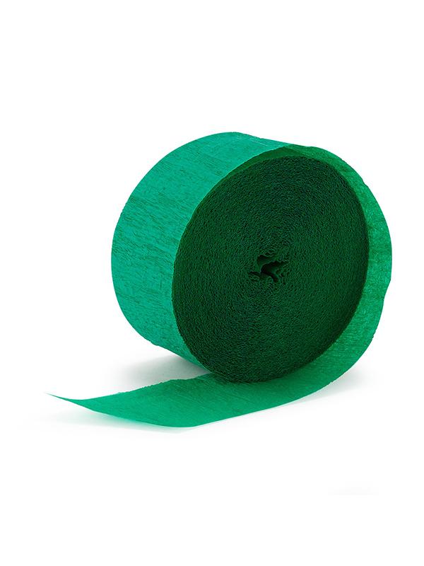 Crepe Streamer - Green