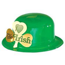 Irish Plastic 'I Love the Irish' Bowler Hat