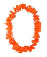 Hawaiian Island Lei Silky Flower Garland - Orange  * 8 only in stock *