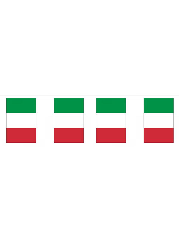 Italy Flag Bunting Rectangular Flags