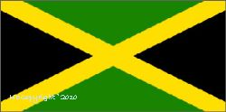 Jamaican Flag 5ft x 3ft With Eyelets For Hanging