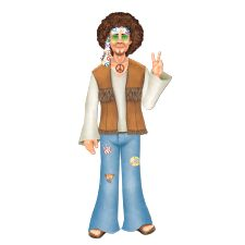 Jointed Hippie Man