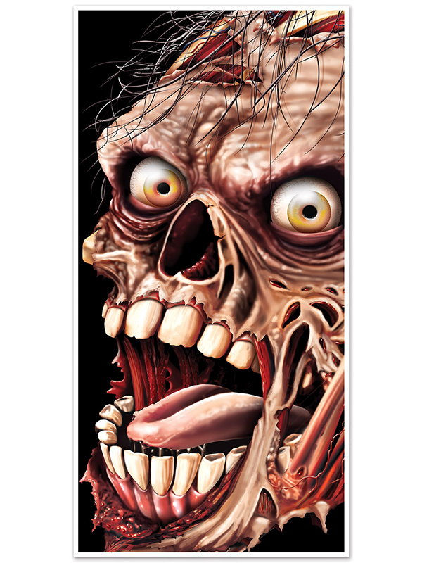 Zombie Door Cover 30 inches by 5 feet