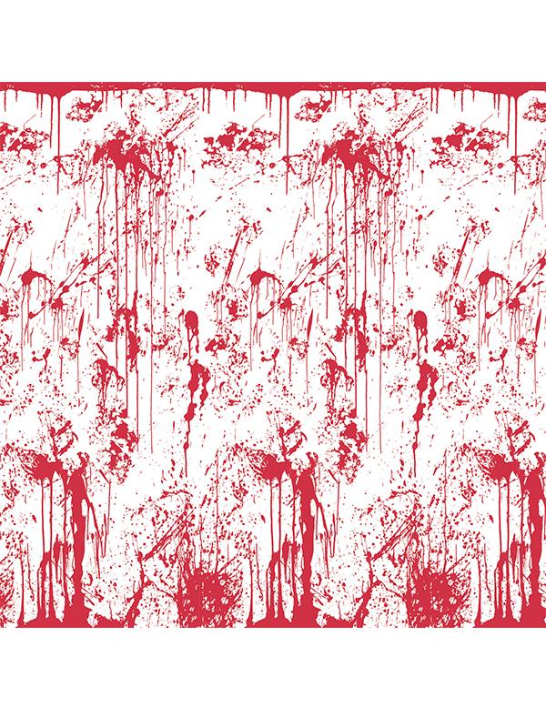 Bloody Wall Backdrop 4' x 30'