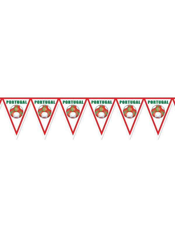 Portugal Football Bunting
