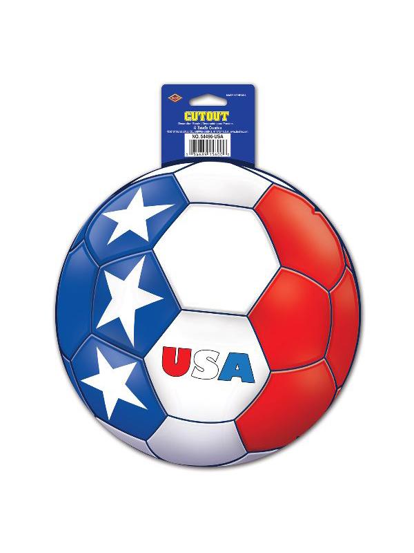 USA Football Cutout