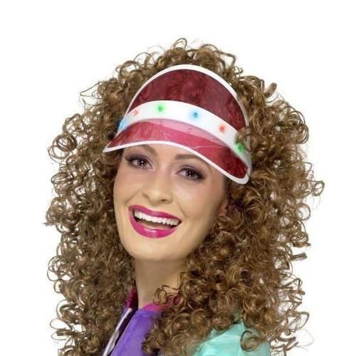 Flashing Visor Hat - Pink