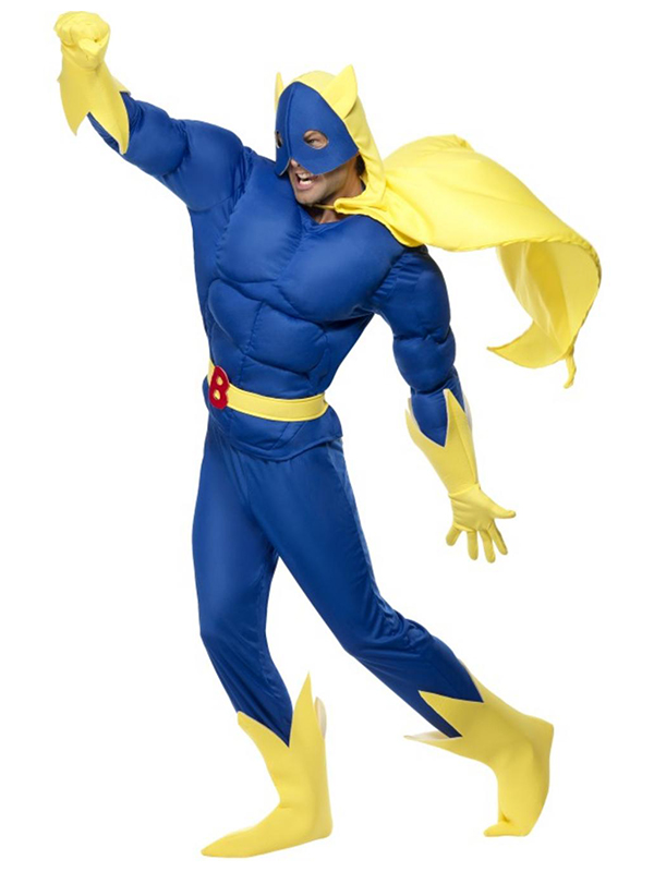 Bananaman Costume 12345