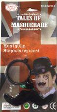 Monocle and Moustache Set