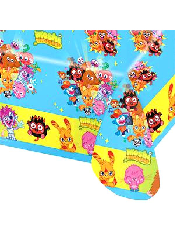 Moshi Monsters Party Plastic Tablecover
