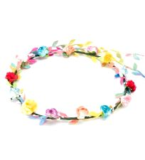 Flower Headband Garland - Multi-coloured