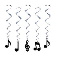Musical Note Whirls