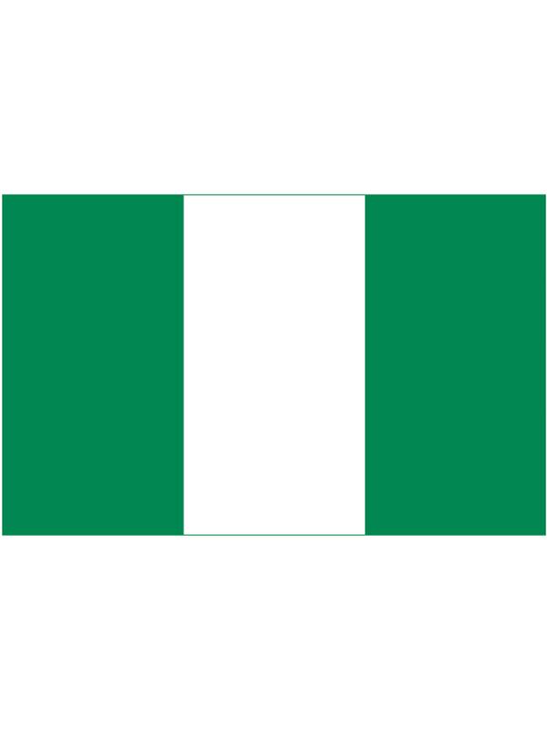 Nigeria Bunting 6m 20 Flag
