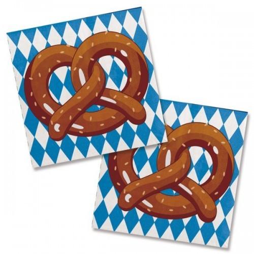 oktoberfest pretzel napkins novelties parties direct ltd