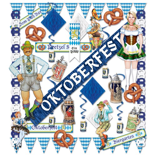 Oktoberfest Decoration Pack - Deluxe