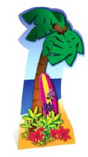 Palm Tree Cardboard Cutout