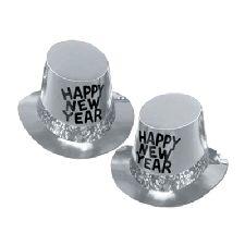 Platinum Rush New Year Top Hat - 10