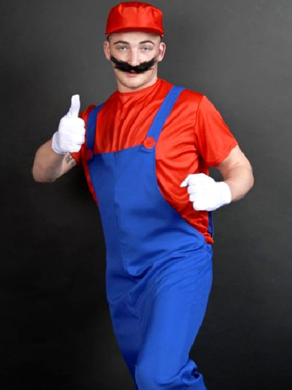 Plumbers Mate Costume - Red
