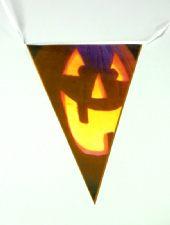 Halloween Pennant Bunting - Pumpkin Design