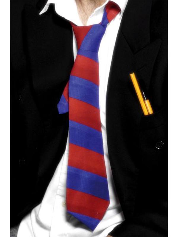 School Tie - Blue & Red (Quantity 1)