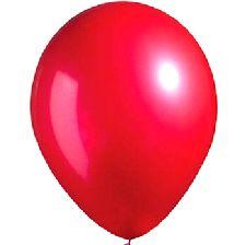 """Balloons Metallic 12"""" Red"""