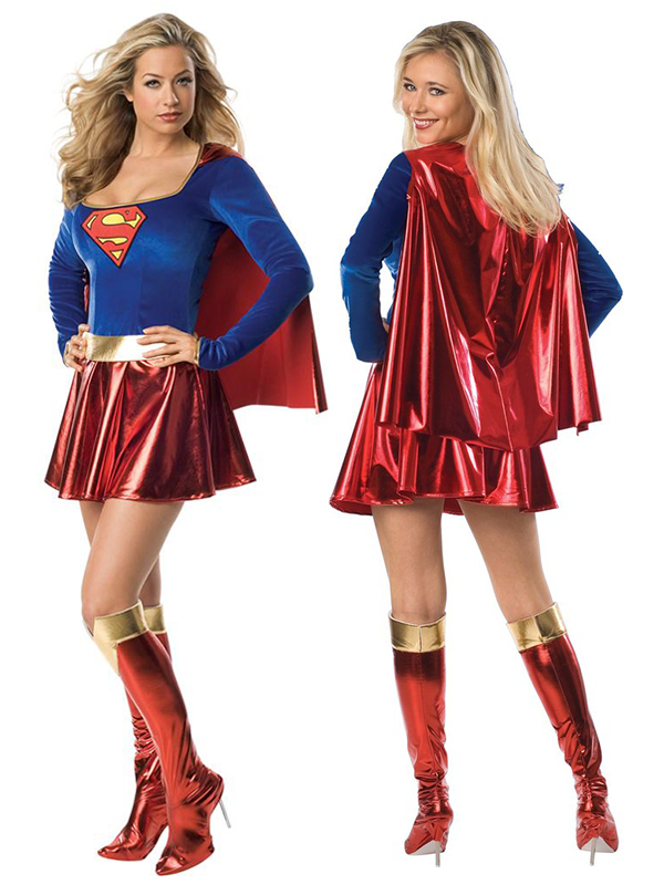 Super Girl Gold Costume (Licensed)