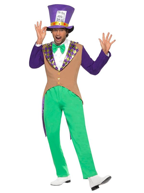 Mad Hatter Costume Medium (12345)