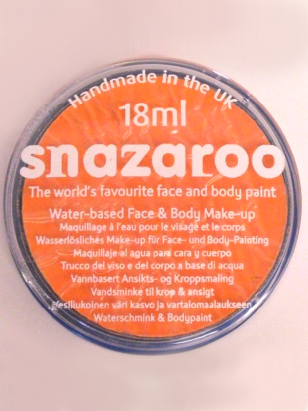 Snazaroo Face And Body Paint - Apricot - Water Based