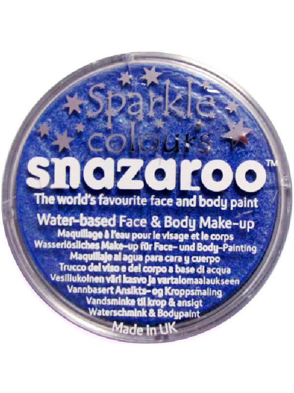 Snazaroo Blue Sparkle Face And Body Paint