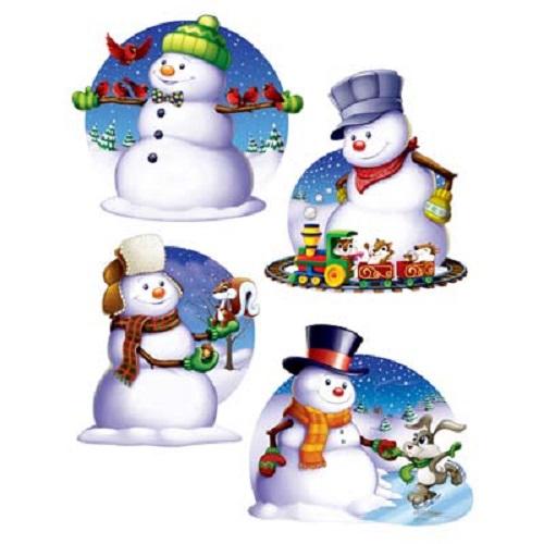 Snowman Cutouts