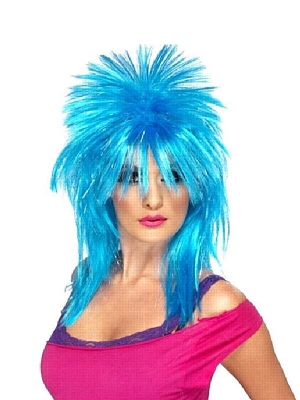 Sparkle Rock Diva Wig - Click for Colours