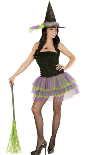 Sparkling Witch Costume 1234