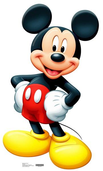 Mickey Mouse Cardboard Cutout