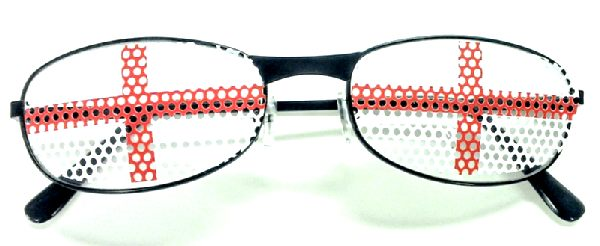 St. George's/England Glasses