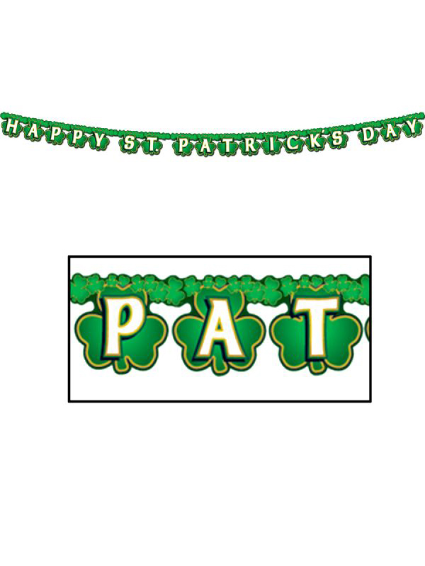 St Patrick's Day Banner