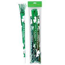 St. Patrick's Day Tasselled Horns