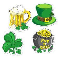 St Patrick's Day Irish Cutouts